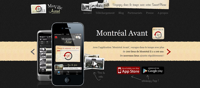 Montréal Avant : visitez Montréal il y a 100 ans sur iPhone et Android !