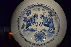 art, dishware, blue and white porcelain, plate, tableware, blue, porcelain,