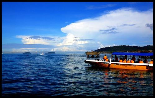 Boat ride.