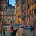 <p>This was the scene from our front door of the apartment we rented in Venice!</p>