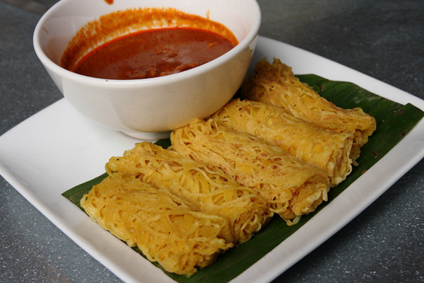 Roti Jala with Curry Chicken | Flickr - Photo Sharing!