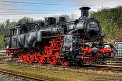 Bochum - Eisenbahnmuseum Dahlhausen 97 502 Zahnraddampflokomotive 03