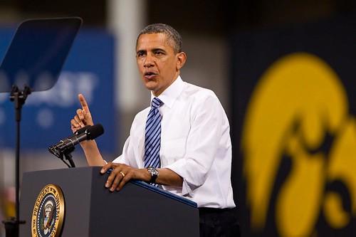 Obama @ Iowa #3