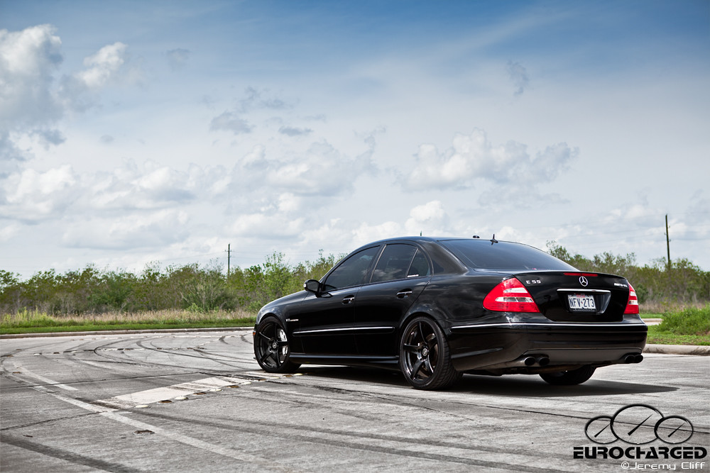 Mercedes benz e55 amg tuned by eurocharged a photo on for 2007 mercedes benz e55 amg
