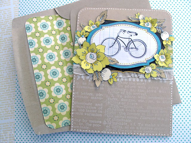 You are 'wheely' beautiful card - mel stampz