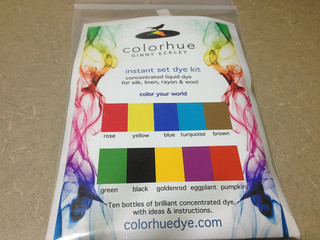 Colorhue Instant Set Dyes, 10 Bottle Sampler Pack (Front view)