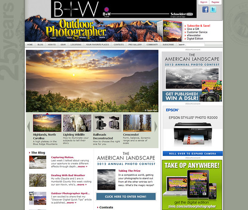 magazine landscape photography nc highlands media published op feature daveallen publish wnc featured highlandsnc outdoorphotographer