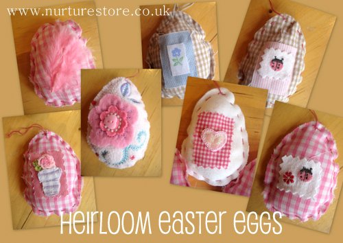 heirloom Easter eggs