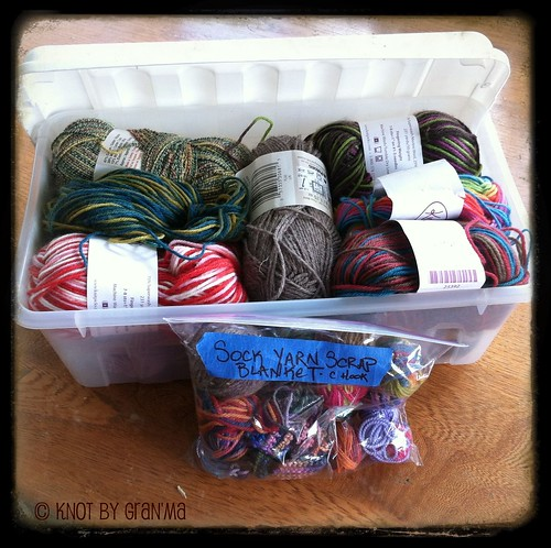 clear bin yarn storage