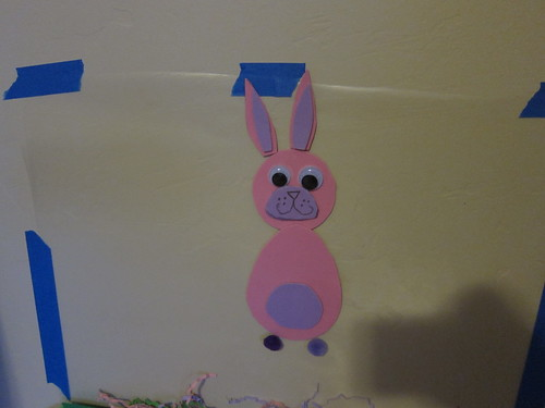 Bunny sticky wall