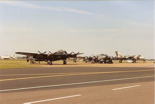 Lancaster,Shackleton,Vulcan, Scanned