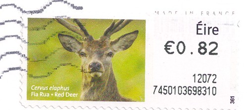 Ireland Red Deer Stamp