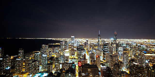 Chicago Skyline [From atop John Hancock Center]
