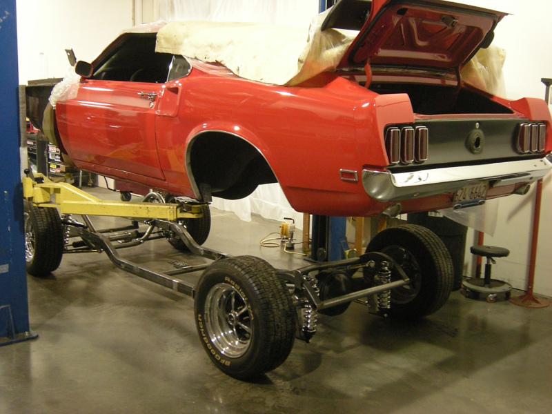 1969 Mustang Fastback Schwartz Performance Schwartz