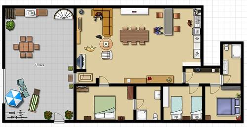 Casa Rural Singra-- Plano