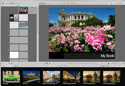 How to Create Slideshows, Web Pages and Books With Apple Aperture