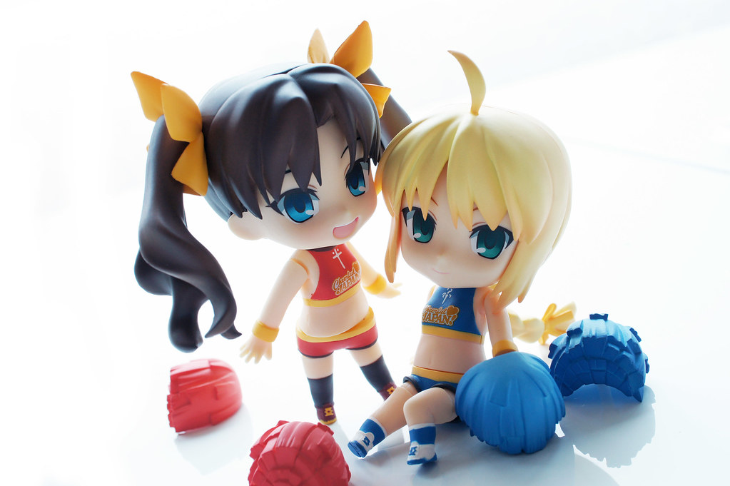 Cheerful Saber & Rin