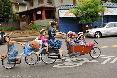 Cargo Bikes Portland The Finch Family