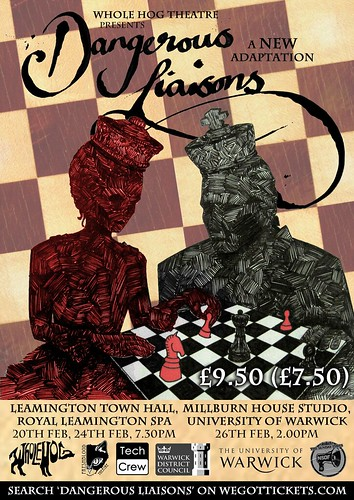 Whole Hog Theatre Dangerous Liaisons Leamington Spa February 2012
