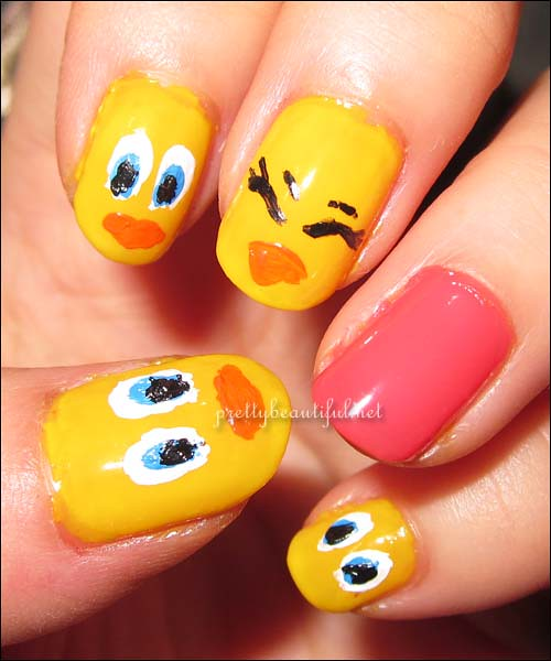 Tweety Bird on Dior Acapuloo2
