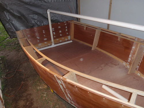 "Building the ""Lost Dog"" a Lumber Yard Skiff"