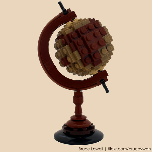 LEGO Antique Globe