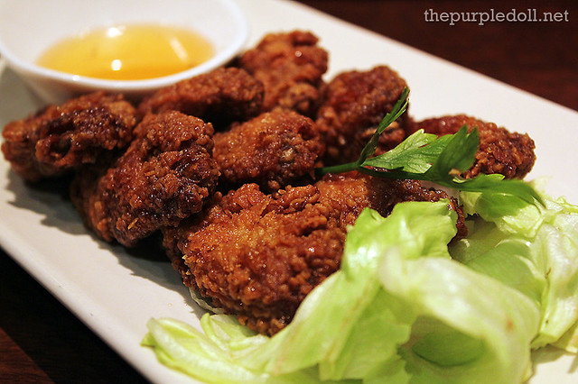 Deep-Fried Chicken Wings P245