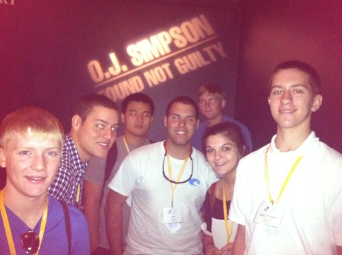 NSLC LAWA Students Visit the Museum of Crime and Punishment