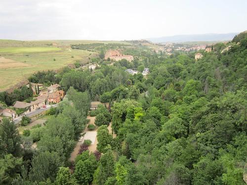 アルカサルから見たエル・パラル修道院 2012年6月1日 by Poran111