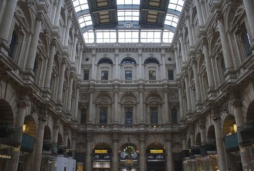 Inside the Royal Exchange