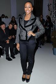 Alexandra Burke Tweed Jacket Celebrity Style Women's Fashion