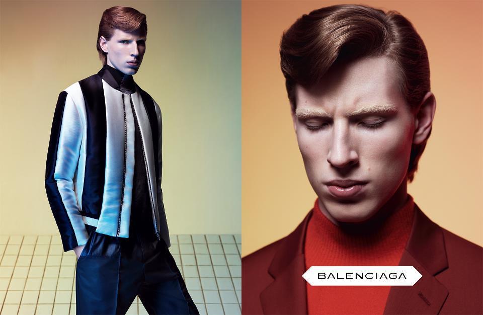 Balenciaga Fall 2012 Campaign