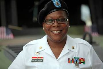 DC-based veteran and AT&T employee Cheryl Henderson at AT&T National Photo credit: Gary M. Perkins