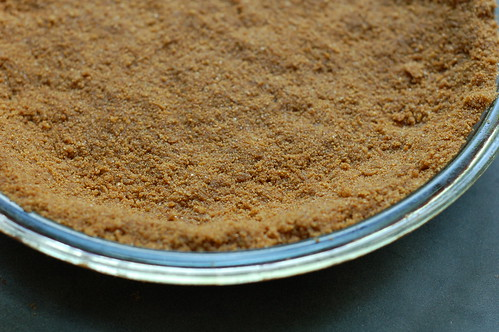 Ginger graham cracker crust by Eve Fox, Garden of Eating blog, copyright 2012