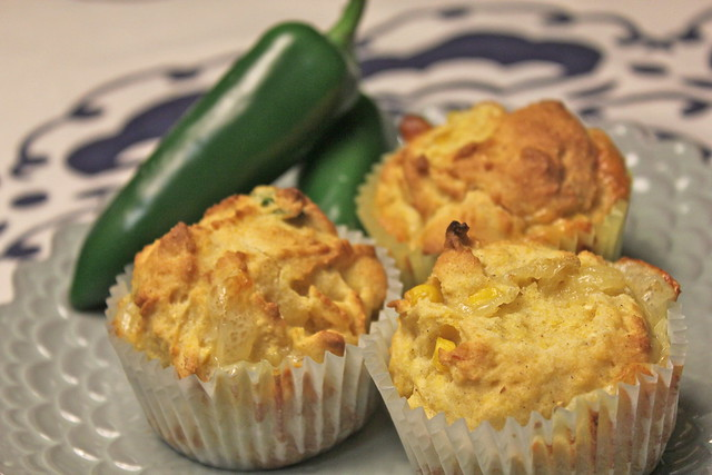 Easy Gluten Free Jalapeño Cornbread Muffins