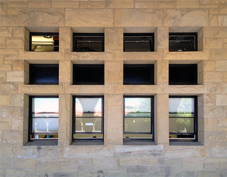 Windows in the Main Quad