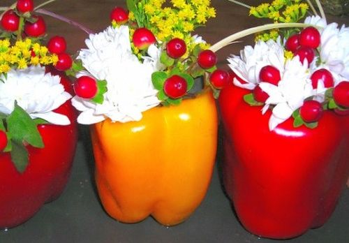 Peperoni floreali