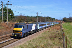 90015 at Bentley Manor 27/3/12