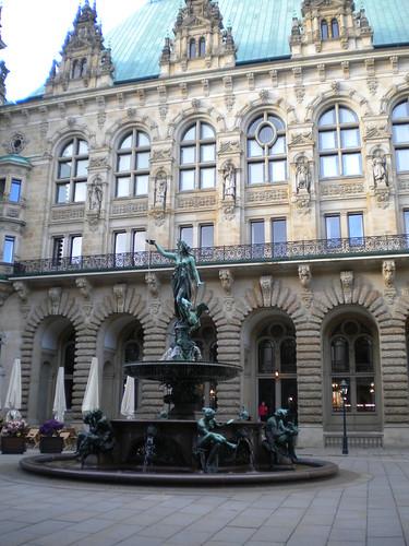 Innenhof des Rathauses, Hamburg
