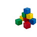 Colorful Building Blocks - Pyramid by lavsen