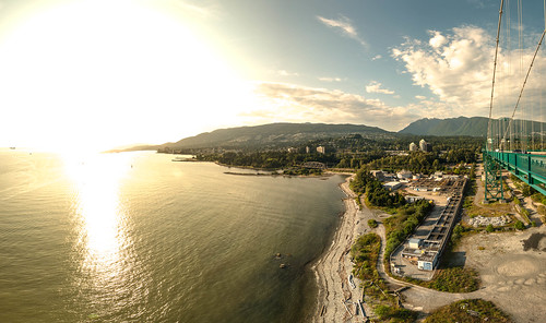 West Van in the sun