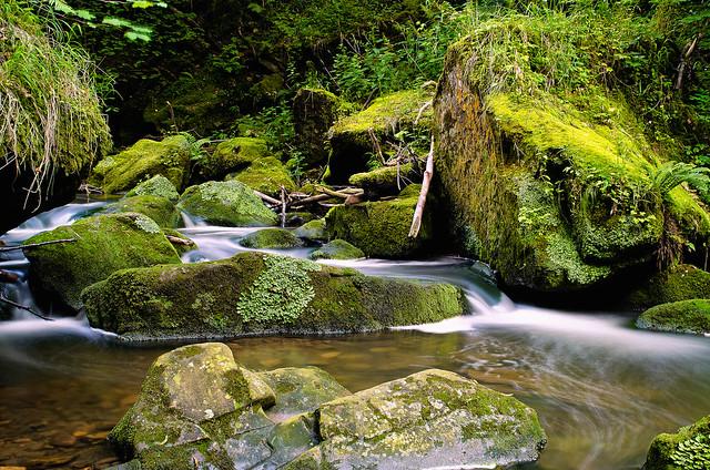 Watervallen en stroomversnellingen