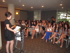 Dr Archer, Mentor, Miss Teen Canada, Delegates, youth
