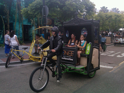 Comic-Con Pedicab