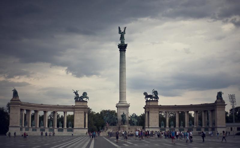 hösök tere, budapest