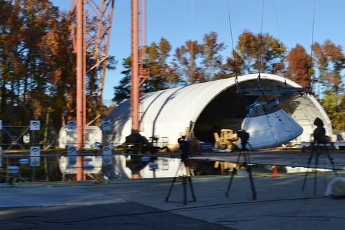 Orion Drop Test - Swinging