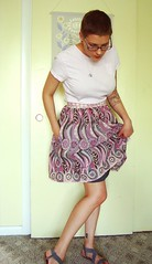 Betty skirt - Innocent Crush voile 2