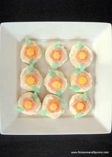 Candy Flower Sugar Cookies