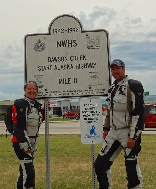mile zero alaska highway
