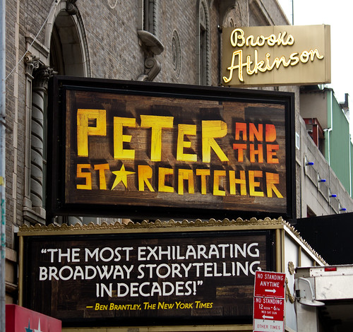 Peter and the Starcatcher @ Brooks Atkinson Theatre on Broadway